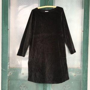 purejill Velvet Tunic Dress